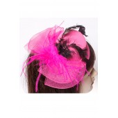 Hair Fascinator Double Net (6 pcs in one pack)