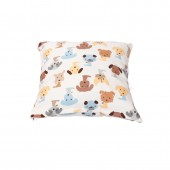 Cushion Cover A 15 - Puppy Print (45 x 45cm)