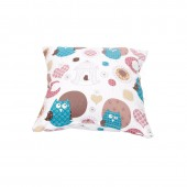 Cushion Cover A 16 - Bird Print (45 x 45cm)