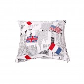 Cushion Cover A 17 - Flag Print (45 x 45cm)