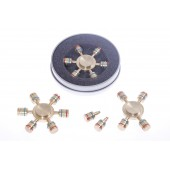 Fidget Spinner 02  Pure Brass (3 Pack)=$6.90ea