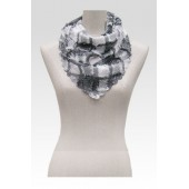 Frill Triangle Scarf (5 Colours)