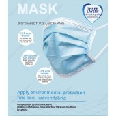 Disposable 3 Layer Face Mask Protective Mouth Masks (50 Pcs Per Box) - Free Delivery (Currently Out of Stock, Stock will be back asap 2 week)