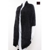 Knitted Poncho 01