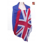 Union Jack Print Shawl