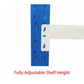 4m(L) x 0.6m(D) x 2.4m(H) Shelving Rack