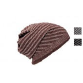 Striped Reversible Beanie