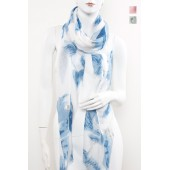 Long Fashion Pattern Scarf 10