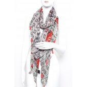 Long Fashion Tassel Scarf A02