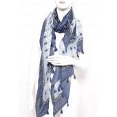 Long Fashion Tassel Scarf A05