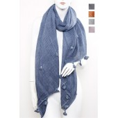 Long Fashion Tassel Scarf A27
