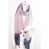 Long Fashion Tassel Scarf A28