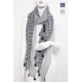 Long Fashion Tassel Scarf C01