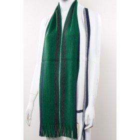 Stripe Kintted Long Scarf