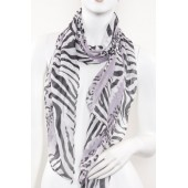 Soft Silk Printed Scarf A17