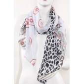 Soft Silk Printed Scarf A18