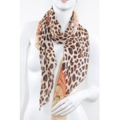 Soft Silk Printed Scarf A19