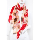 Soft Silk Printed Scarf A20