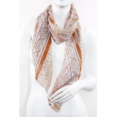 Soft Silk Printed Scarf A25
