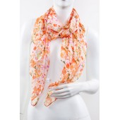 Soft Silk Printed Scarf A28