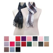 Woollen Feel  Scarf  - Plain
