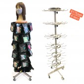 Face Mask Hanging Stand - 6 Tiers